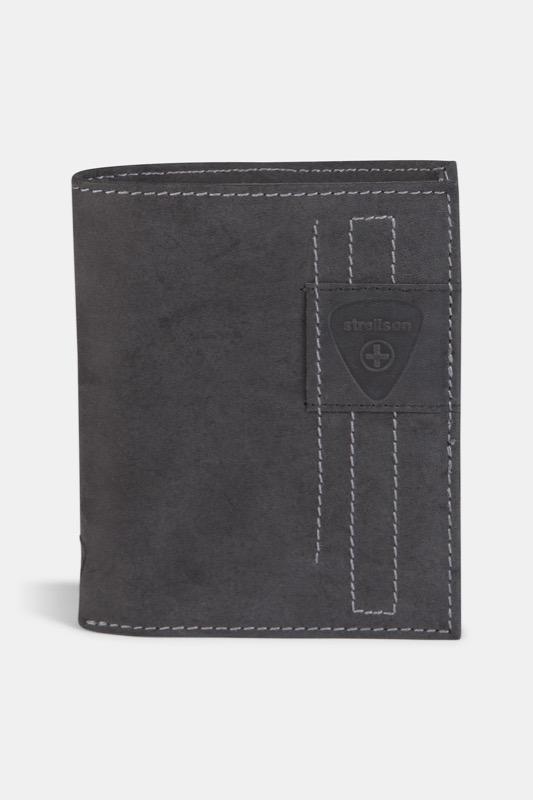 Geldbörse Richmond, vintage-schwarz | Accessoires > Portemonnaies > Geldbörsen | Schwarz | Strellson