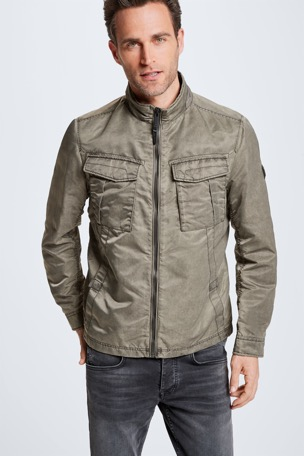 Jacke Severo, washed oliv