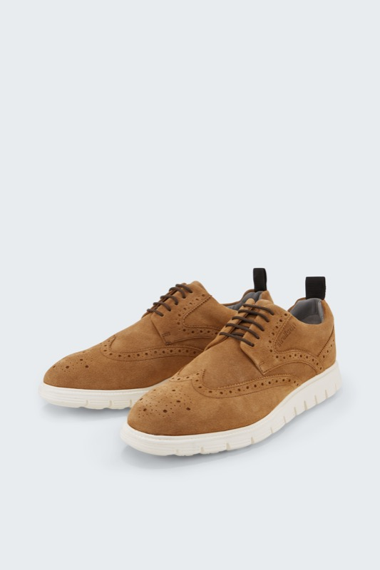 Brogue Lace-up Ziro Harley, cognac