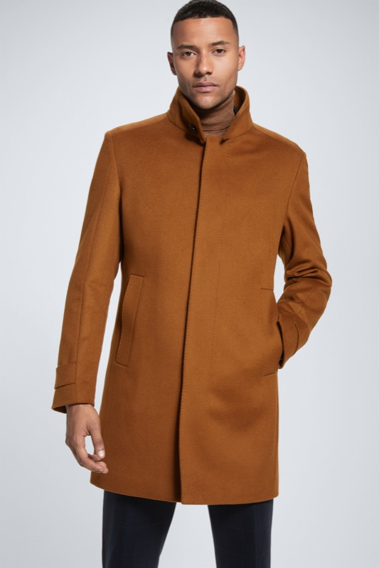Manteau New Broadway, marron