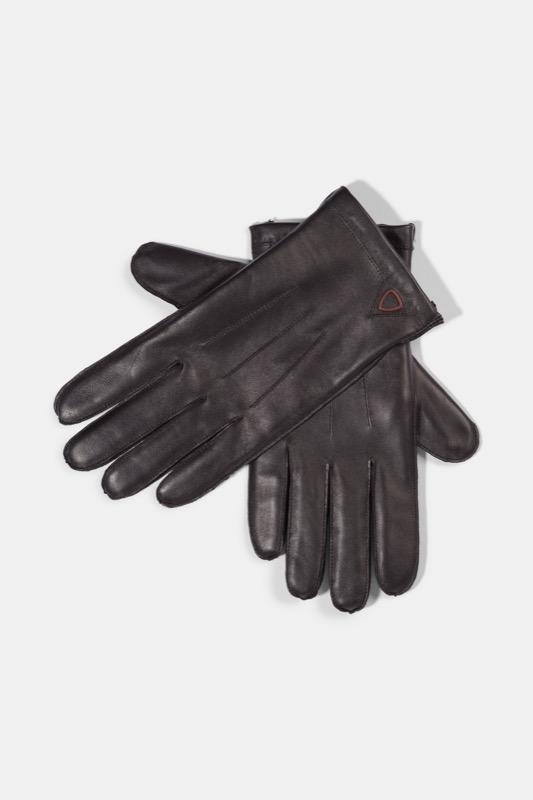 Vingerhandschoenen, zwart