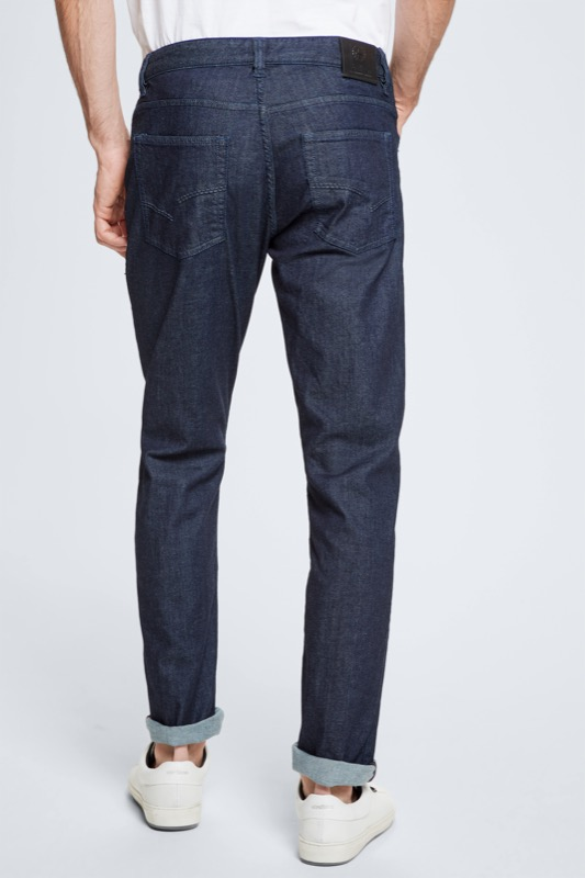 Jeans Liam - S.C. Collection, dark indigo blue