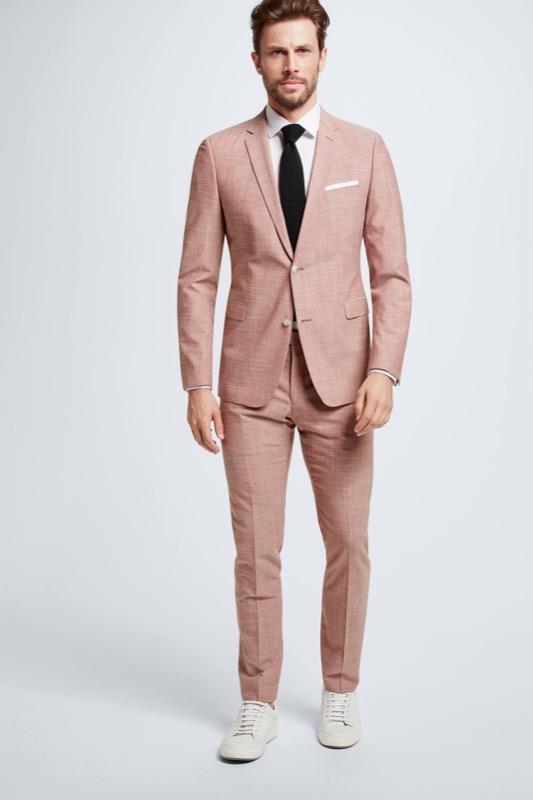 Anzug Cale-Madden, hellrot meliert | Bekleidung > Anzüge & Smokings > Anzüge | Strellson