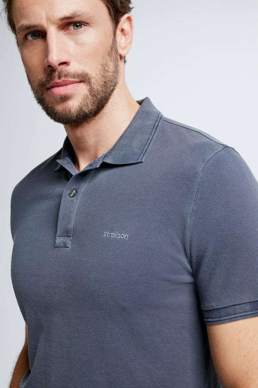 Poloshirt Phillip, donkerblauw
