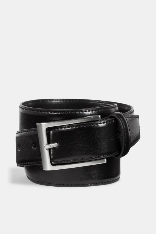 Ledergürtel, schwarz | Accessoires > Gürtel | Schwarz | Strellson