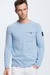 Crewneck-Pullover Albany - S.C.Collection, hellblau