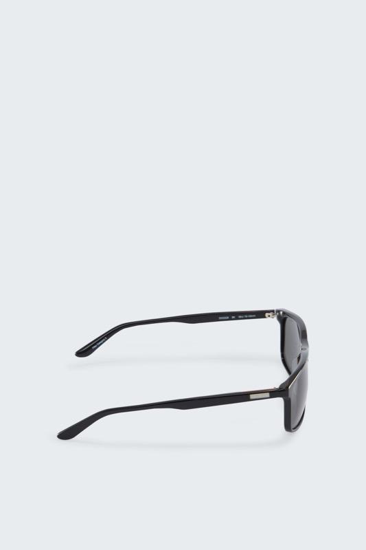 Getönte Sonnenbrille, schwarz