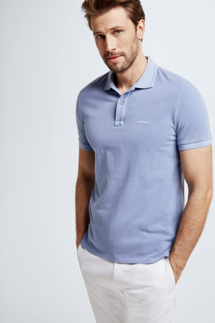 Polo-Shirt Phillip, pastellblau