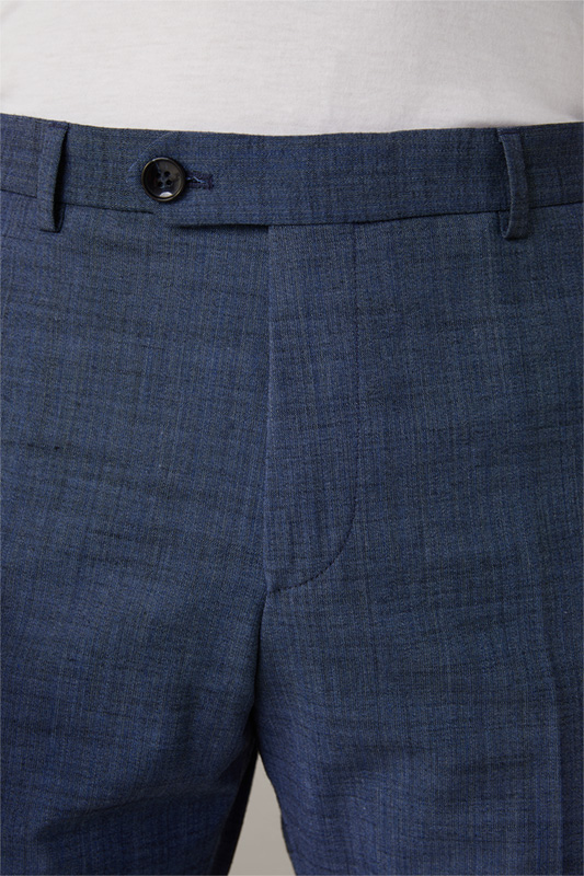 Flex Cross Chino Till, navy strukturiert