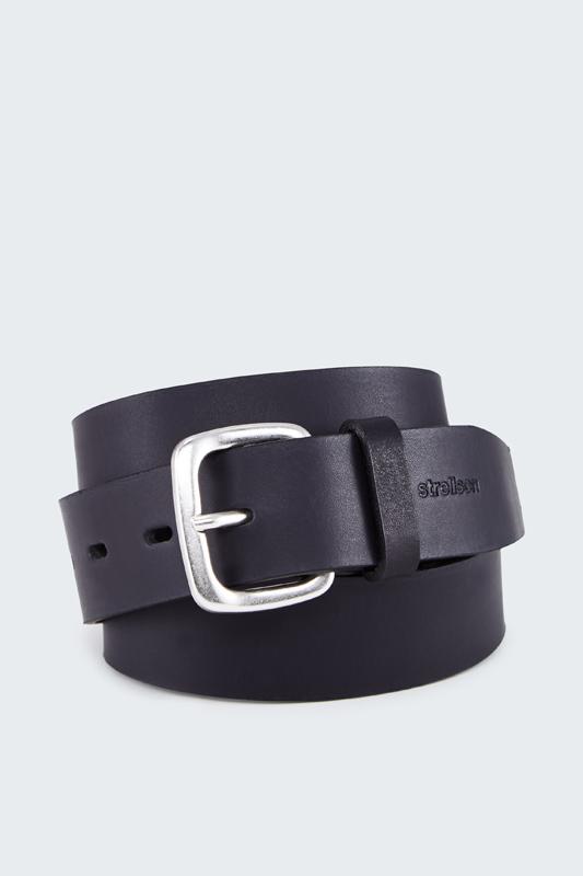 Ledergürtel, schwarz | Accessoires > Gürtel > Ledergürtel | Strellson