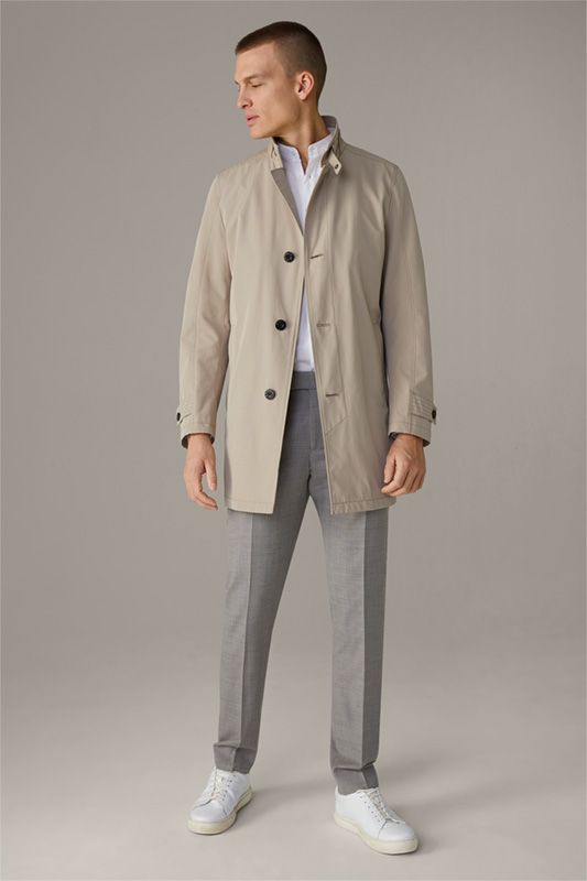 Manteau court Richmond, beige moyen