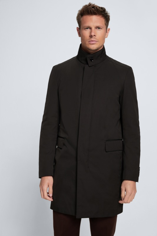 Kurzmantel Mayfair, schwarz