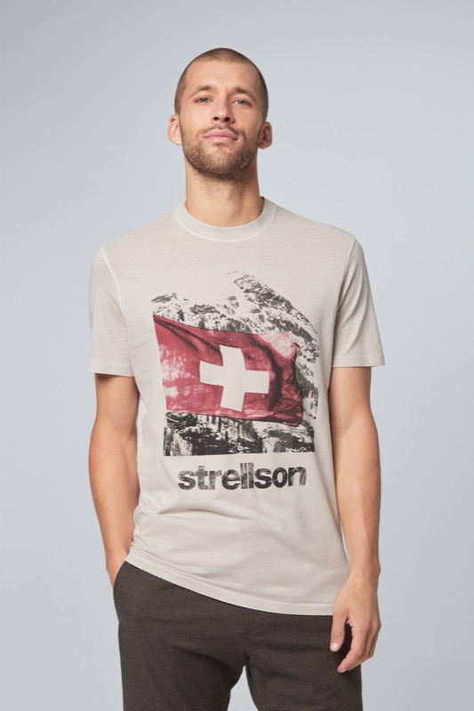 T-shirt Sanford, gris clair