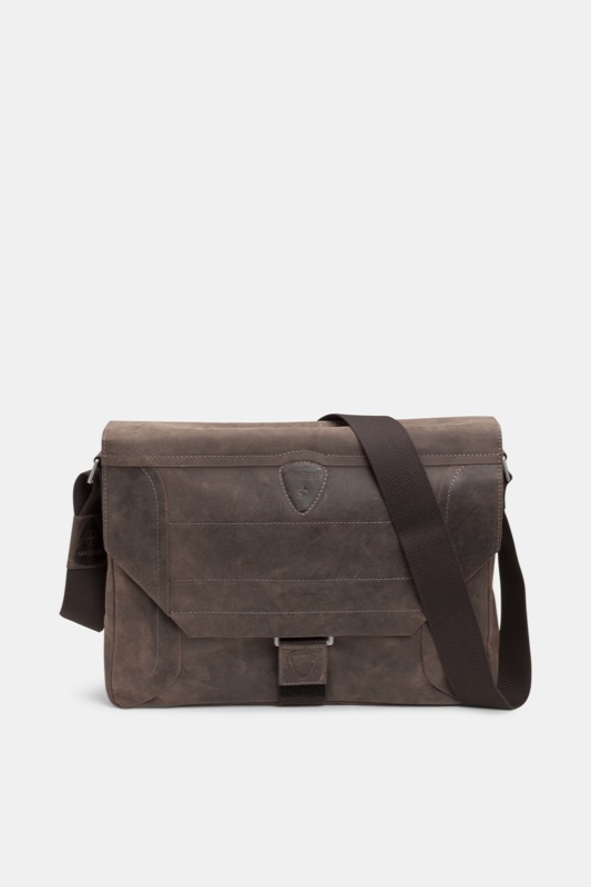 Messenger Bag Hunter, vintage-braun