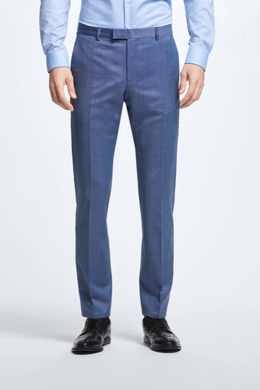 Combinatiepantalon Mercer, pastelblauw