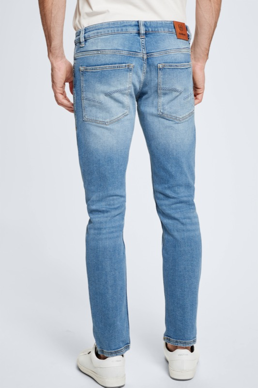 Jean Robin ? S.C. Collection, bleu indigo clair