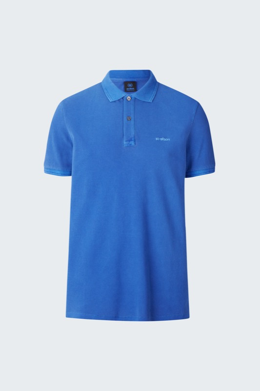 Polo-Shirt Phillip, mittelblau