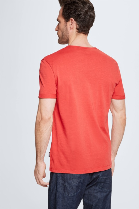 T-shirt Colin, rood