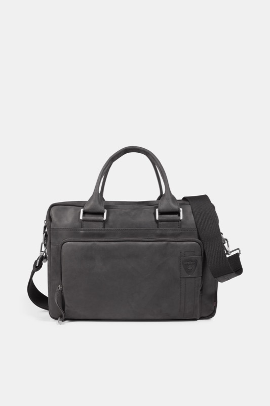 Image of Briefcase Richmond, vintage-schwarz