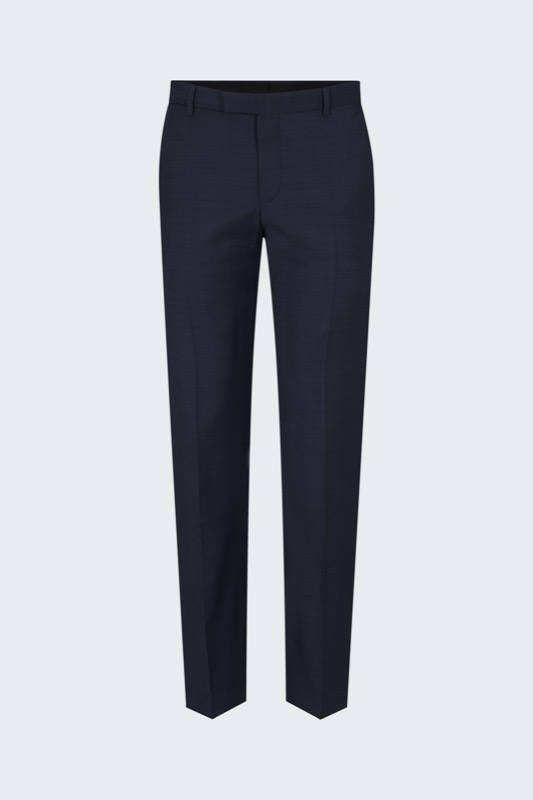 Pantalon Mercer, navy chiné
