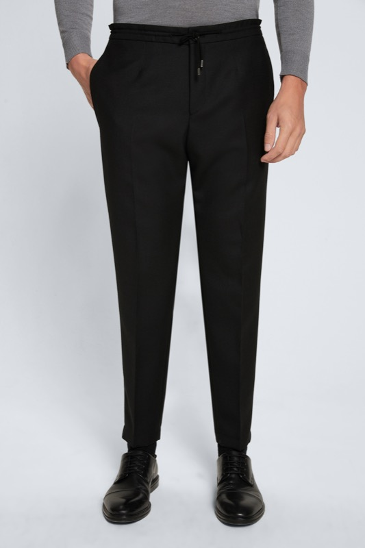 Pantalon Saturn, noir