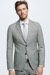 Veste de costume Refined Cash, gris chiné