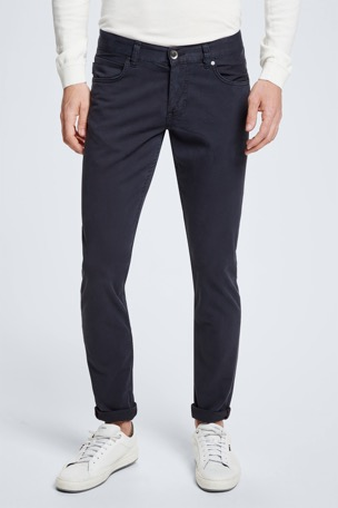 Jeans Robin - S.C. Collection, donkerblauw