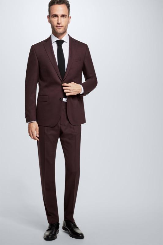 Anzug Rick-Jans, dunkelrot | Bekleidung > Anzüge & Smokings | Strellson