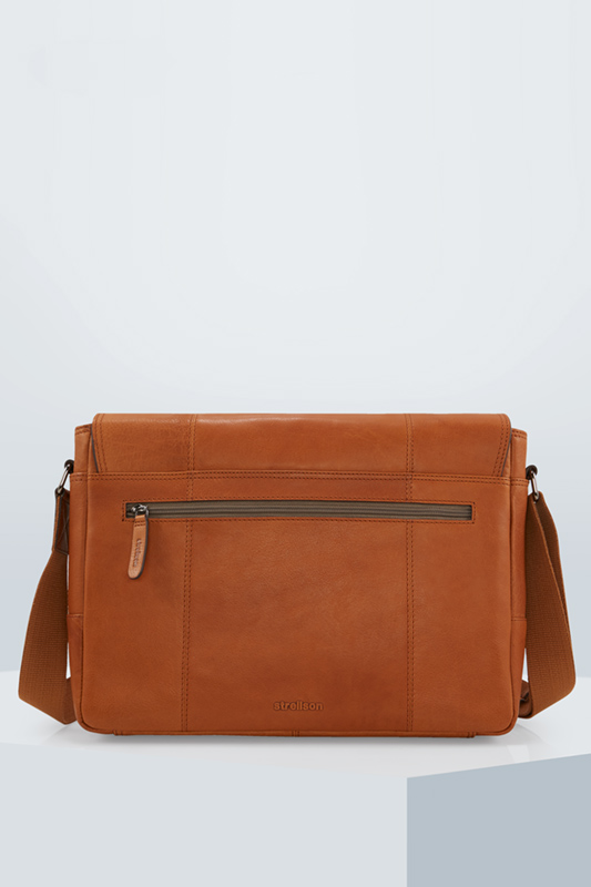 Messenger Bag Blackwall, cognac