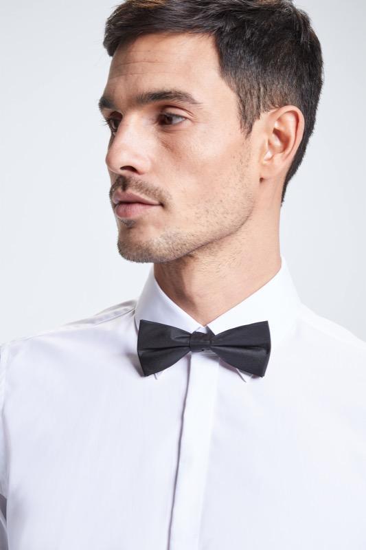 Hemd mit Umschlagmanschette Silan, weiß