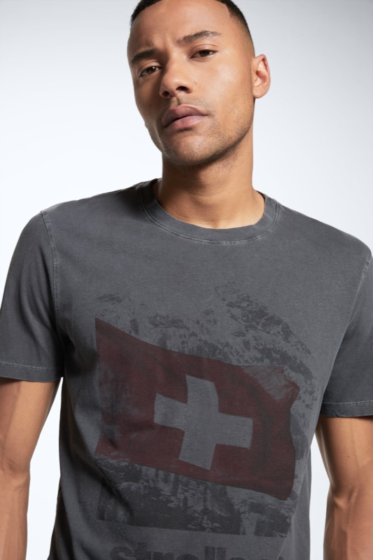 T-Shirt Sanford, medium grau
