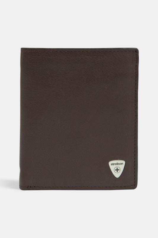 Geldbörse Harrison, dunkelbraun | Accessoires > Portemonnaies > Geldbörsen | Dunkelbraun | Strellson