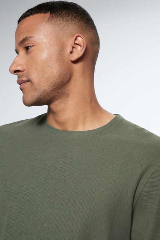 T-shirt à manches longues Wade, vert moyen
