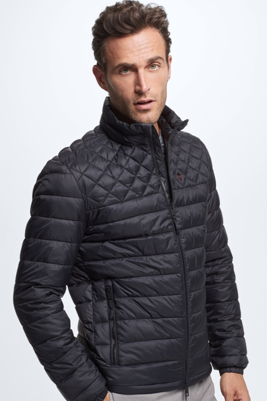 Steppjacke 4 Seasons, schwarz