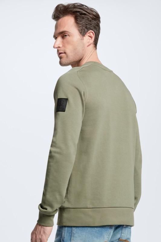 Sweatshirt Sanford - S.C.Collection, grün