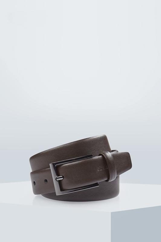 Ledergürtel, dunkelbraun | Accessoires > Gürtel > Ledergürtel | Strellson