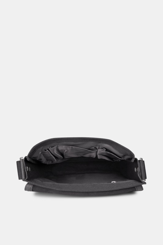 Sac coursier Richmond, noir vintage