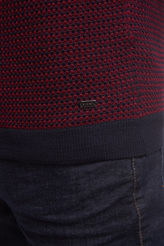 Pullover Merry, navy/rot