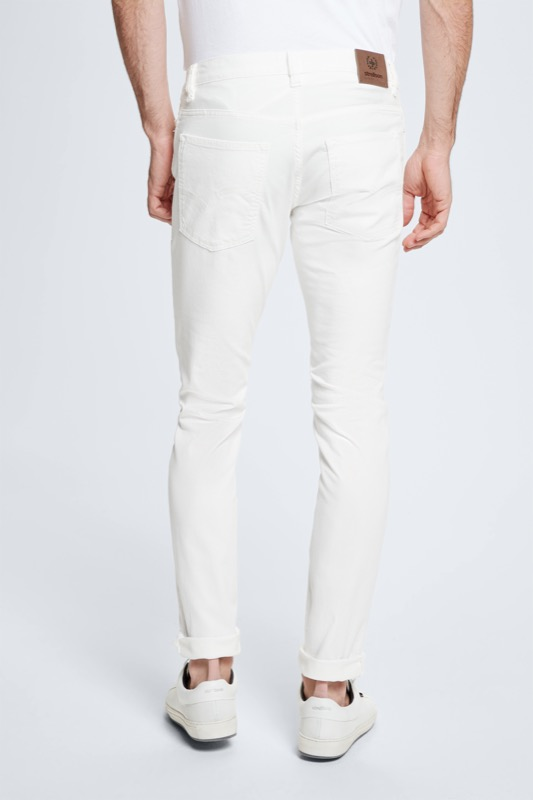 Jeans Robin ? S.C. Collection, blanc
