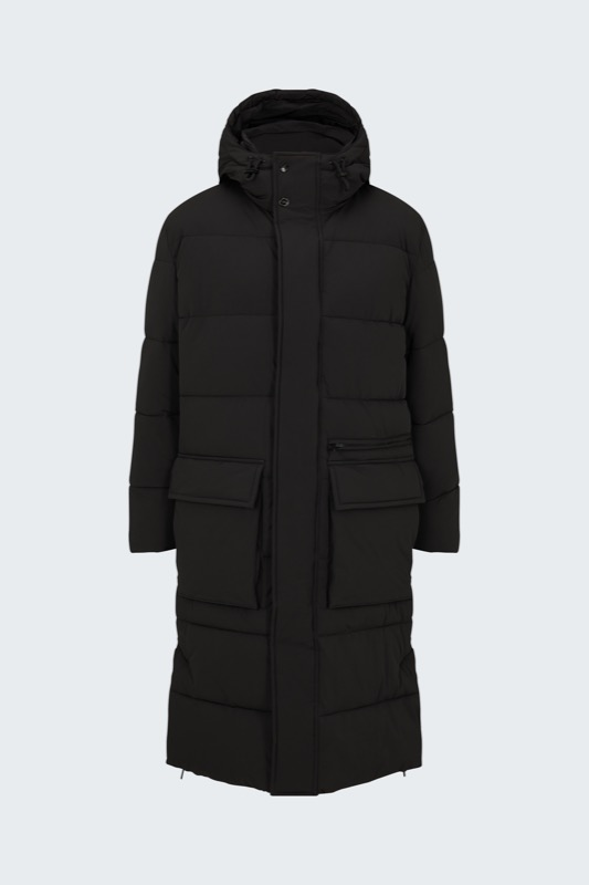 Manteau matelassé Flex Cross Cloud Coat, noir
