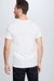T-shirt en coton stretch en lot de 2, blanc
