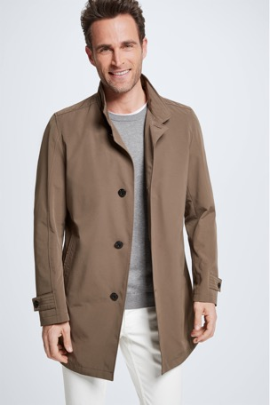 Manteau court Richmond imperméable, vert olive