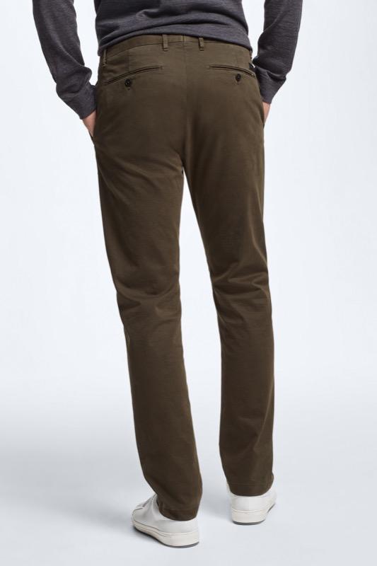 Pantalon Rypton, vert foncé