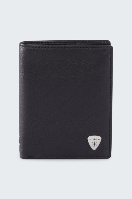 Geldbörse Harrison, schwarz | Accessoires > Portemonnaies > Geldbörsen | Strellson