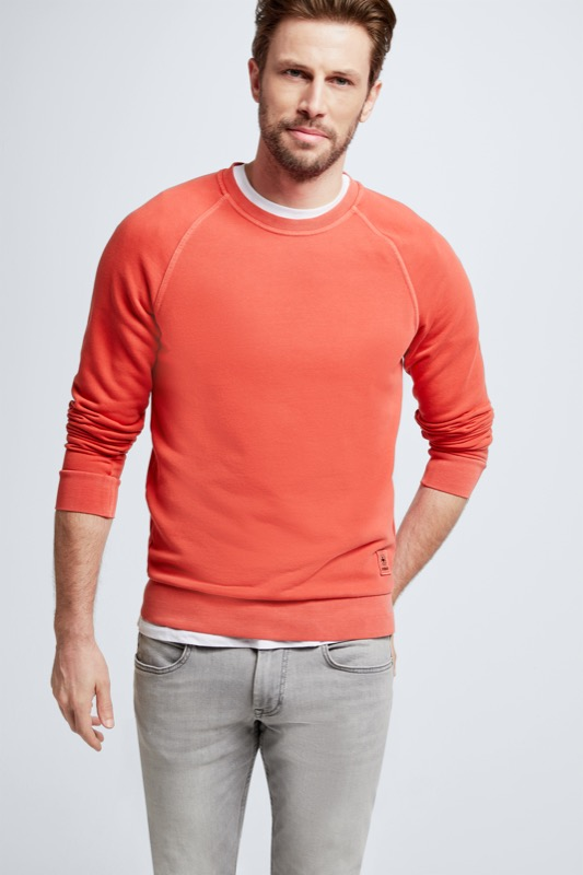 Sweatshirt Cortez, orange