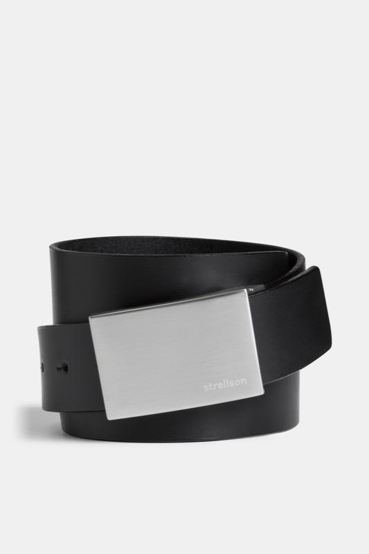 Ledergürtel, schwarz | Accessoires > Gürtel > Ledergürtel | �berf�rber schwarz 1 | Jeans | Strellson