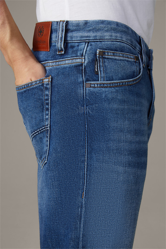 Jeans Tab, medium blue