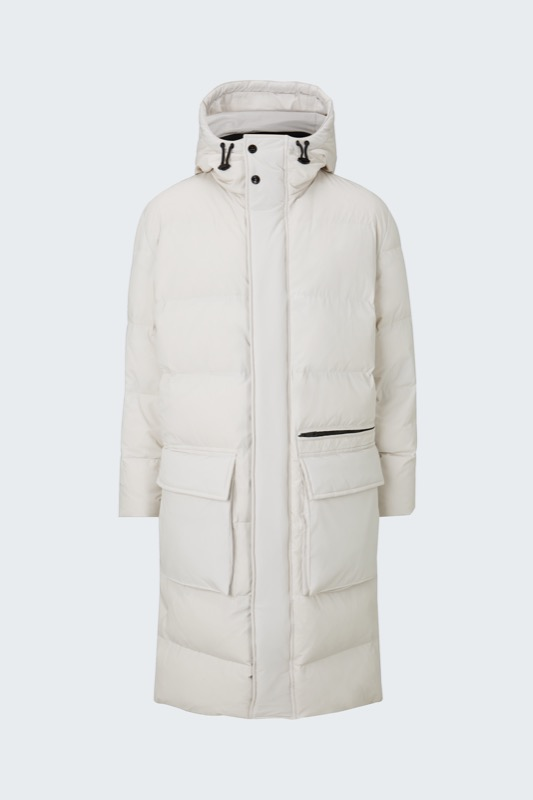 Flex Cross Steppmantel Cloud Coat, ecru