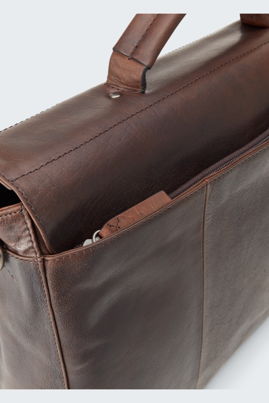Attaché-case Coleman, marron foncé