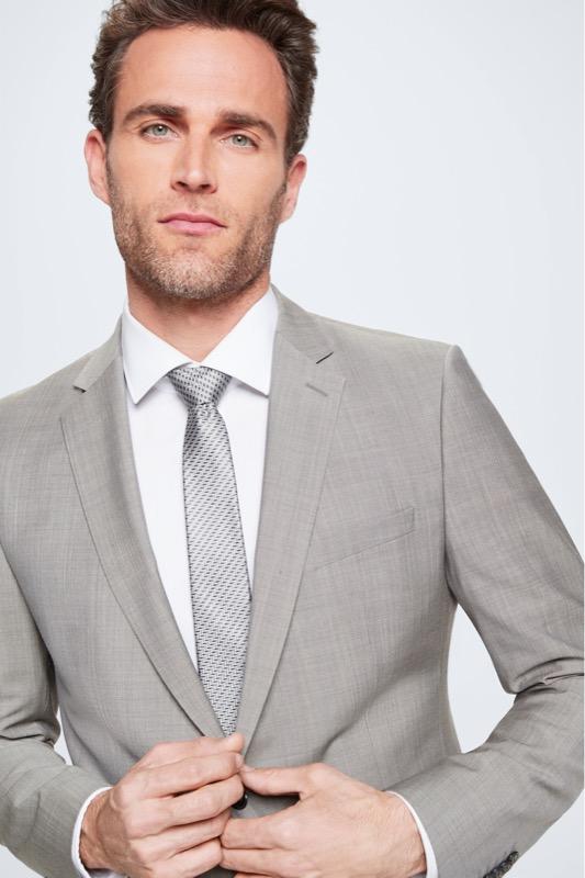Costume Allen-Mercer, gris moyen